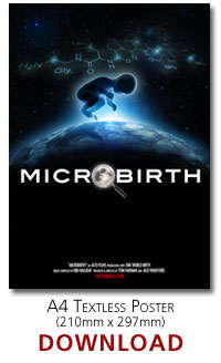 Microbirth A4 poster (no text)