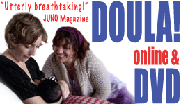 Doula online and DVD