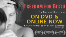 Freedom for Birth on DVD and online