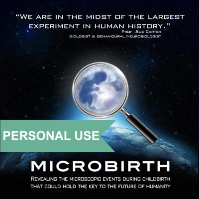 Microbirth DVD for personal use