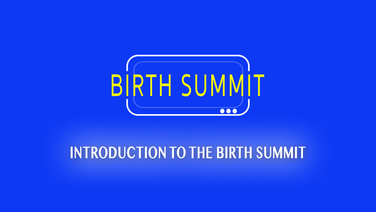 Introduction to the Birth Summit