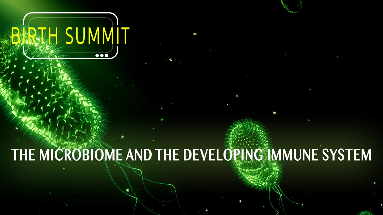 The microbiome and the developing immune system