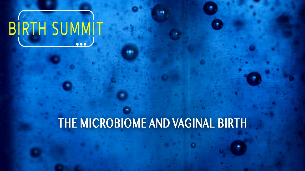 The microbiome and vaginal birth